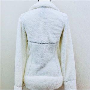 Burton Jackets & Coats - Burton Full Zip Dry Ride Snow White Fleece Jacket